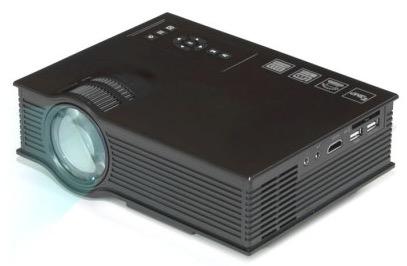UNIC UC40+ LCD-Beamer mit EU-Stecker, 800 Lumen und 800×480 Auflösung für nur 49,67 inkl. zollfreiem Versand