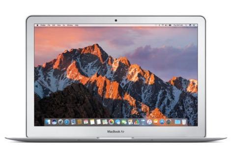 Apple MacBook Air (13,3″, 128GB, 8GB, Core i5, El Capitan) nur 888,- Euro inkl. Versand