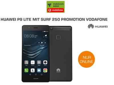 Huawei P9 Lite mit MD Surf 250 Vodafone Promo Tarif für nur 9,99 Euro pro Monat!
