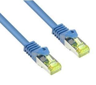 BIGtec Ethernet LAN-kabel (10m, 1000 Mbit/s, Cat 7) in Blau für nur 5,95 Euro inkl. Versand