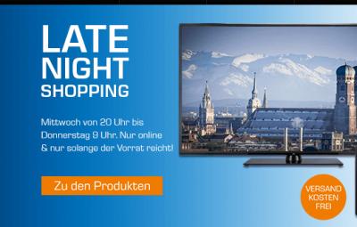 Saturn Late Night Deals – z.B. den HP Desktop-PC mit 1 TB HDD, 4 GB RAM Core i3 nur 344,- Euro