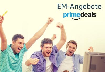 Nur heute – Der Amazon Prime Deals Tag mit vielen exklusiven Prime Angeboten zu EM