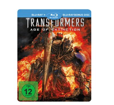 Transformers 4 Exklusive Steel Edition auf Blu-ray für 5,- Euro versandkostenfrei!