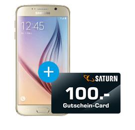 SAMSUNG Galaxy S6, Smartphone, 32 GB, 5.1 Zoll, LTE für effektiv 344,- Euro