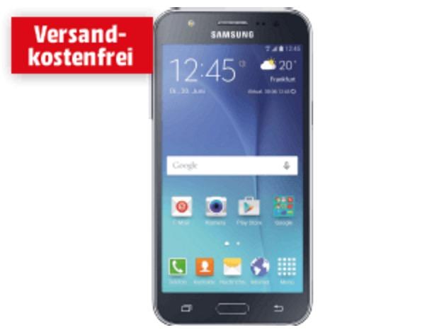 SAMSUNG Galaxy J5 8 GB Smartphone in Schwarz für nur 133,- Euro inkl. Versand