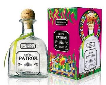 Patrón Silver Tequila in Geschenk Box limitierte Edition (1x 0,7 Liter) nur 24,99 Euro – statt normal 37,- Euro