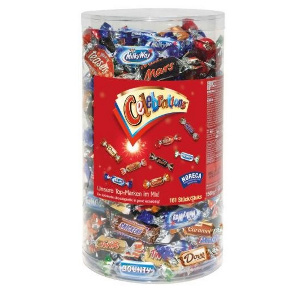 Amazon Tagesangebot! 1,5kg Celebrations Box nur 13,99 Euro inkl. Primeversand