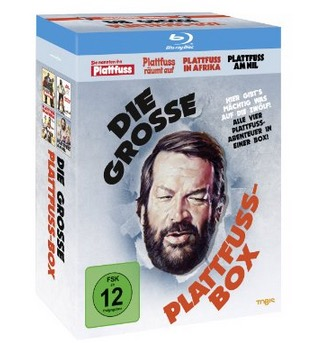 Bud Spencer – Die grosse Plattfuss-Box [Blu-ray] für nur 19,97 Euro