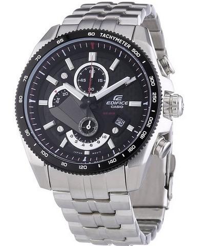 CASIO Edifice Herren-Chronograph Edelstahl EFR-513SP-1AVEF nur 83,88 Euro – als Warehouse sogar für 66,44 Euro