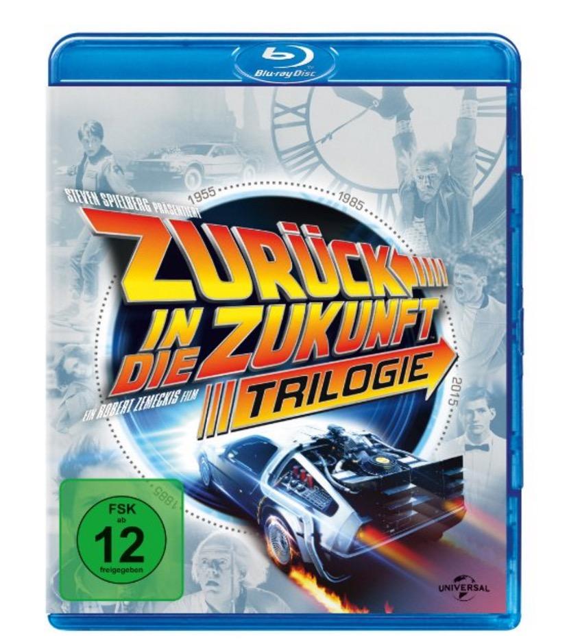 Zurück in die Zukunft als Trilogie (4 Discs) [Blu-ray] nur 11,97 Euro