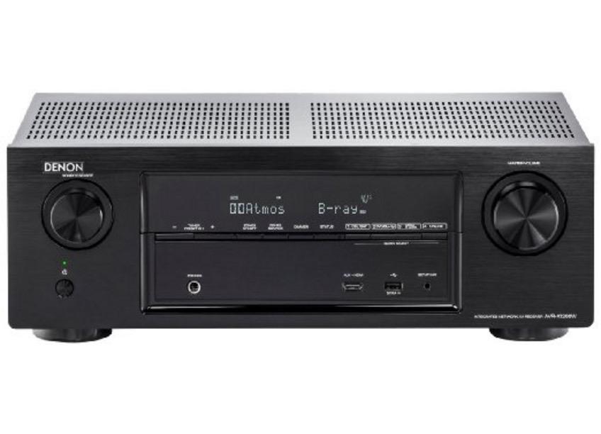 Denon AVRX1200WBKE2 7.1 Surround AV-Receiver (Dolby Atmos, WLAN, Bluetooth, Spotify Connect, 5 Plus 1 HDMI 3D, 4K, 7x 145 Watt) für nur 333,- Euro inkl. Primeversand