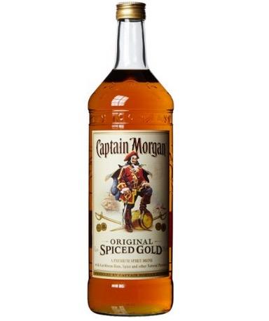 Captain Morgan Original Spiced Gold Großflasche Rum (1x 3 Liter) nur 48,99 Euro inkl. Lieferung