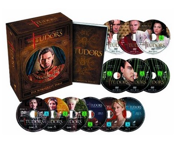 Die Tudors – die komplette Serie [13 DVDs] nur 21,97 Euro inkl. Versand