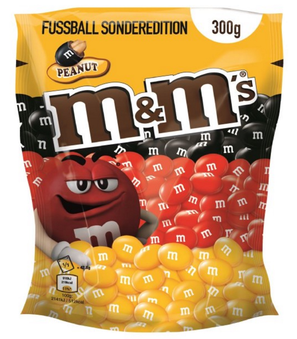 Blitzangebot! M&M's Colour Edition 300 g, 5er Pack (5 x 300 g) für nur 12,69 Euro inkl. Primeversand