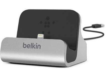 Belkin Lightning Lade/Sync-Dockingstation (mFI-zertifiziert, inkl. 1,2 m USB-Kabel) für nur 15,63 Euro inkl. Versand