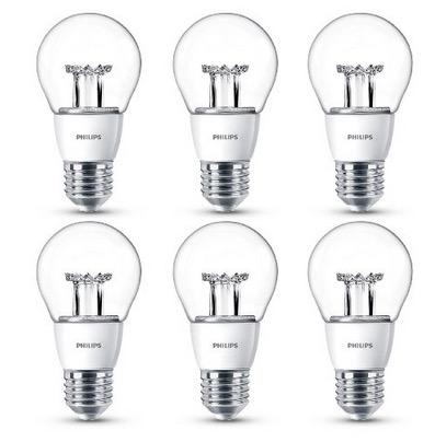 6er Pack Philips LED Lampen (ersetzt 40 Watt) für E27 (warmweiß und dimmbar) nur 18,14 Euro