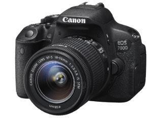 CANON EOS 700D + 18-55mm IS STM Objektiv + Tamron AF 70-300mm 4-5,6 Di LD + Speicherkarte + Tasche für nur 554,98 Euro inkl. Versand