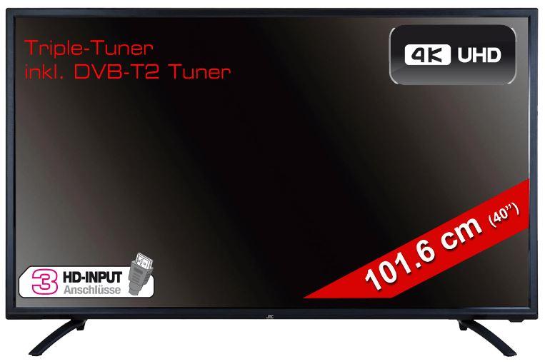 40″ JAY-TECH 4040TT2 LED TV (Flat, UHD 4K) für nur 249,- Euro inkl. Versand
