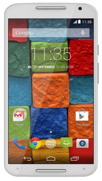 5,2″ Motorola Moto X (2. Gen, Quad-Core, 32GB Speicher) für nur 198,56 Euro inkl. Versand