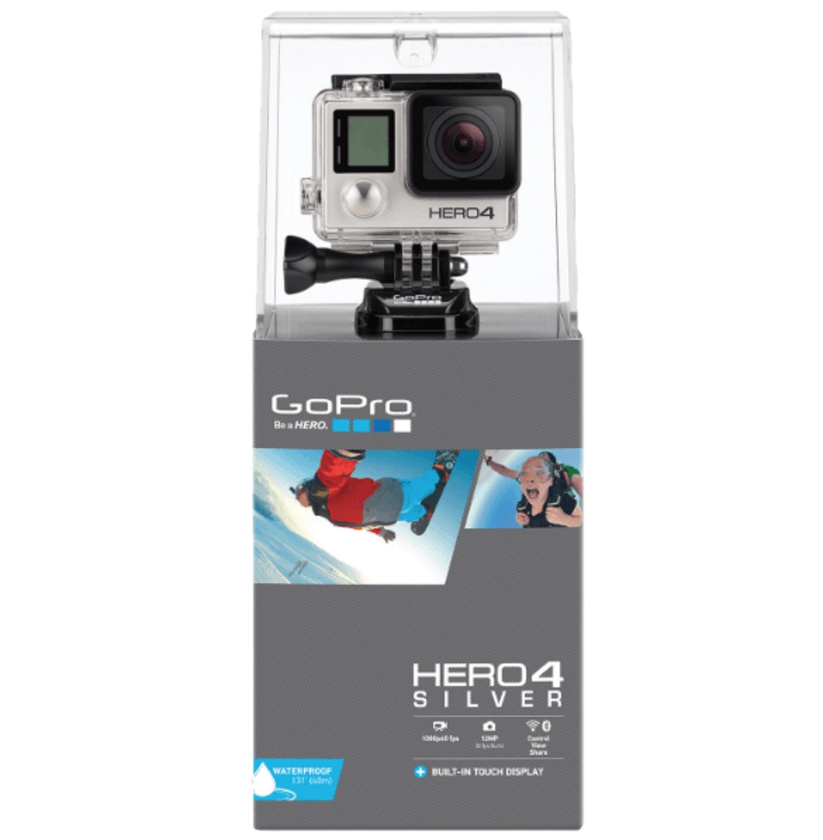 GOPRO Hero4 Silver Adventure Edition + 2x Samsung Evo+ 64GB Speicherkarte für nur 332,98 Euro inkl. Versand