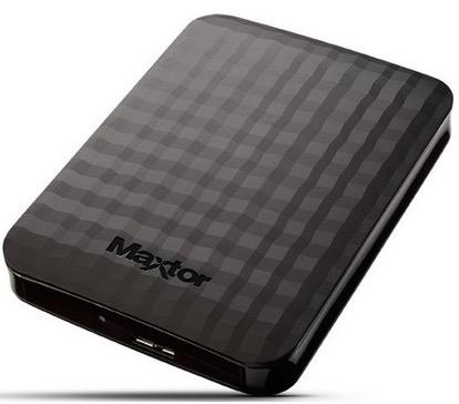 Externe 2.5″ Festplatte Maxtor M3 mit 2TB und USB 3.0 für nur 63,20 Euro inkl. Versand