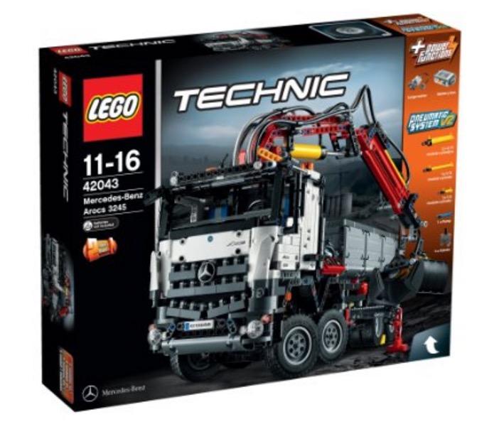 Amazon UK: LEGO Technic 42043 Mercedes-Benz Arocs Truck für nur 133,13 Euro inkl. Versand
