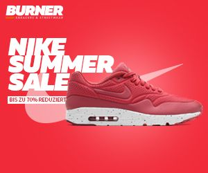 25% Rabatt auf Nike im Sale bei Burner.de