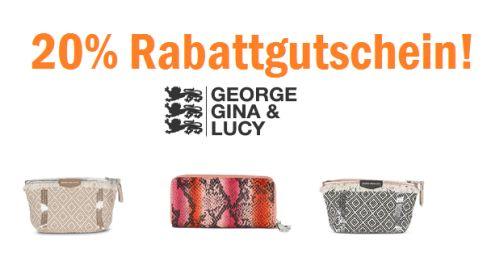 Bis zu 50% Rabatt im George, Gina & Lucy Sale + 20% Gutscheincode auf das gesamte Sortiment!