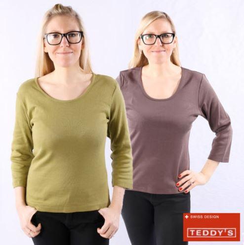 Teddy's Damen Langarm Pullover Mastina