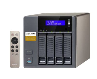 4-Bay NAS QNAP TS-453A-4G mit 4GB Ram für umgerechnet 391,48 Euro