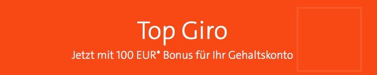 100,- Euro Bonus bei Wüstenrot