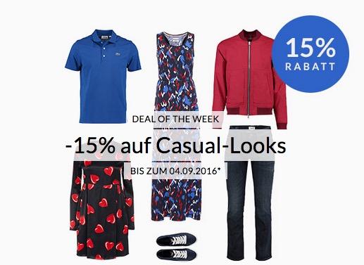 Engelhorn Weekly Deal: -15%  Rabatt auf Casual Looks bis zum 4. September