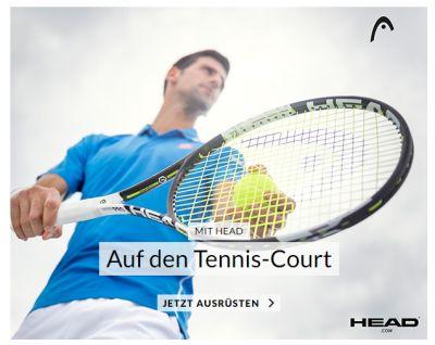 Nur noch heute: 15% Gutscheincode auf Tennisschläger bei Engelhorn – auch auf bereits reduzierte Artikel!