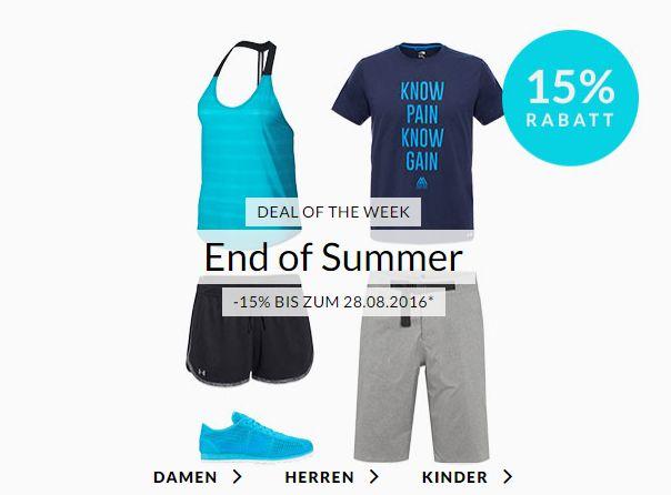 Engelhorn Weekly Deal: -15%  Rabatt auf Beachwear bis zum 28. August