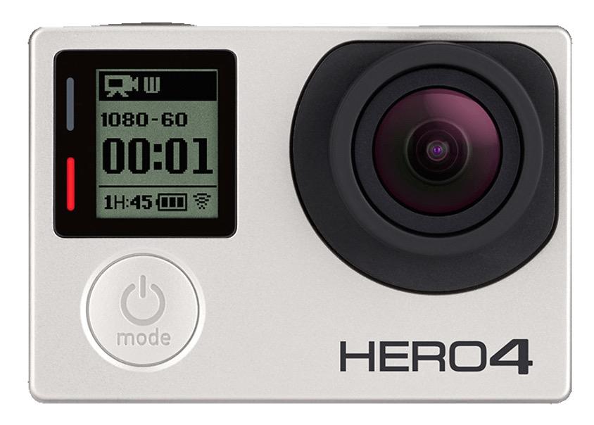 GoPro HERO4 Silver 4K Actioncam schon für 299,- Euro (Vergleich 357,-)