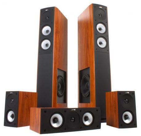Jamo S 626 HCS 3 Soundsystem in Apfel-Dunkel für nur 340,- Euro inkl. Versand