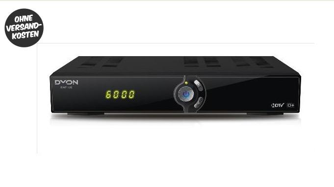 Dyon Raptor HDTV-Kabelreceiver für 39,90 Euro inkl. Versand