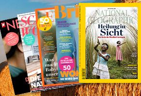 Tipp! Die Zeitschriften-Spätsommerkampagne beim DPV mit vielen Abos zu guten Preisen