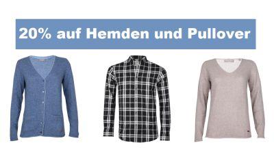 20% Extra Rabatt durch Gutscheincode auf Hemden und Pullover bei Zengoes