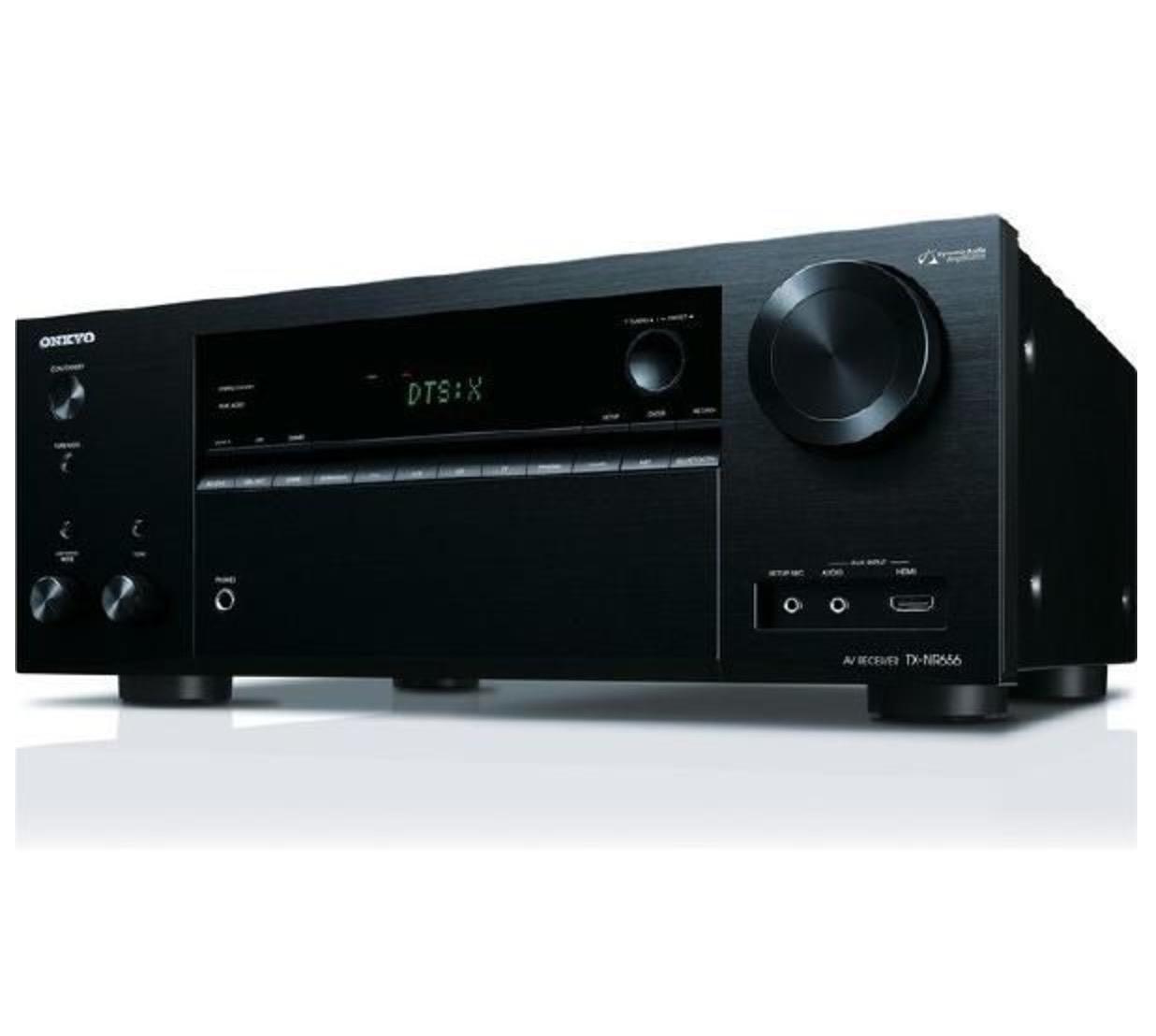 Onkyo TX-NR656 7.2 AV Netzwerk Receiver (Bluetooth/Wi-Fi/Multiroom) für nur 399,- Euro