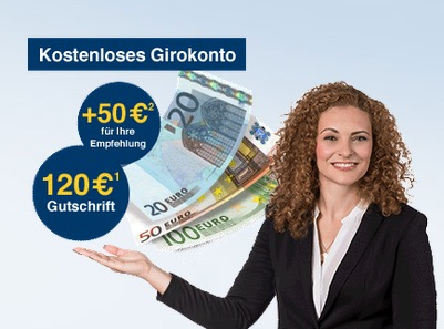 Geht wieder! Jetzt das Girokonto der 1822direkt abschließen und mit zwei Gehaltseingängen bis zu 170,- Euro Prämie kassieren