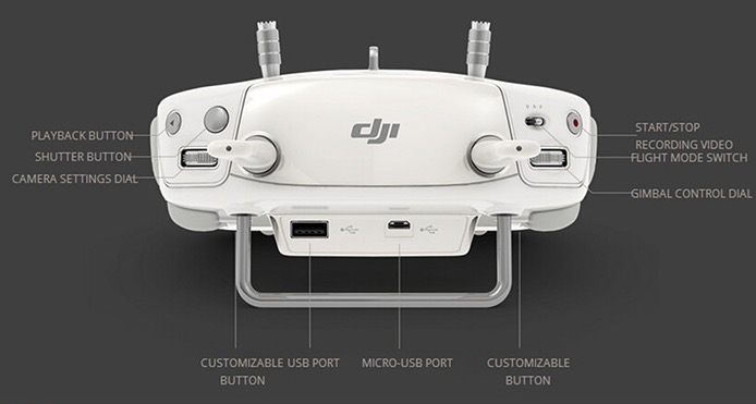 DJI Phantom 3 Professional Fernsteuerung