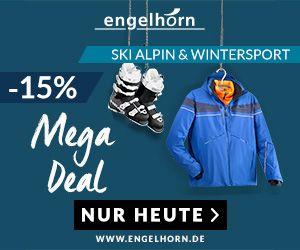 10 Jahre Engelhorn – Nur heute 15% Rabatt auf das Ski- und Alpinsortiment