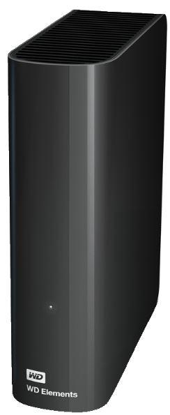 3,5″ WesternDigital Elements Desktop externe Festplatte (4TB) für nur 99,- Euro inkl. Versand