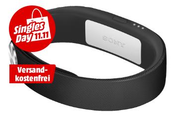 SONY Smart Band SWR10, Smartband, Schwarz für nur 13,- Euro inkl. Versand