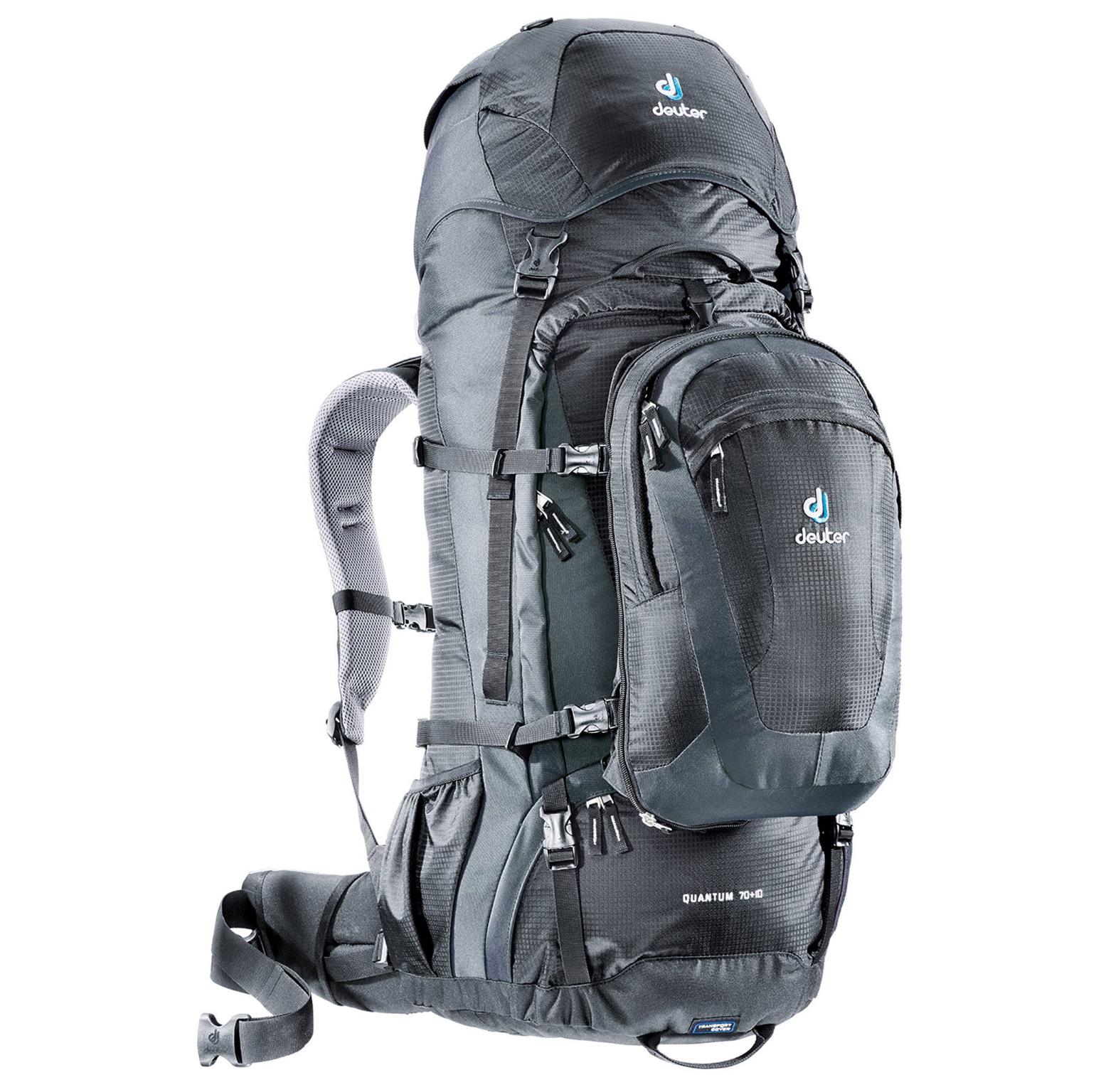 DEUTER Reiserucksack Quantum 70+10 inkl. 18L Daypack für nur 139,93 Euro (statt 197,- Euro)