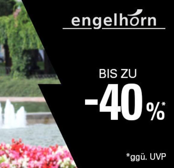 Bis zu 40% Rabatt in den Engelhorn-Aktionsangeboten