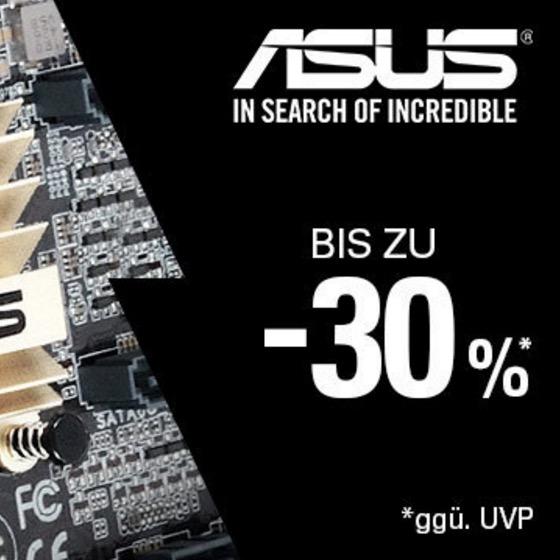 Bis zu 30% Rabatt auf viele Artikel im ASUS-Ebayshop
