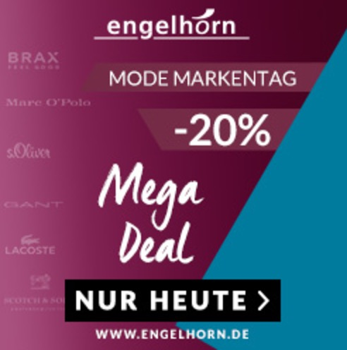 20% Extra-Rabatt auf viele Modemarken