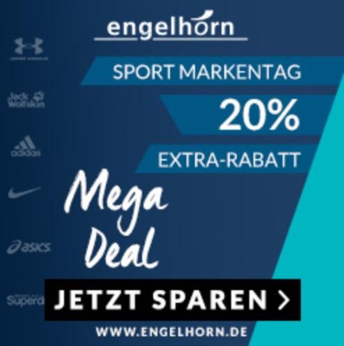 20% Extra-Rabatt auf viele Sportmarken